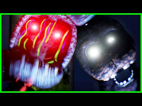 ALL ANIMATRONICS DEFEATED - The Joy Of Creation: Reborn ENDING & UPDATE Jumpscares (FNAF Free Roam)