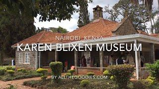 A visit to my grandaunt Karen Blixen´s Farm in Nairobi, Kenya