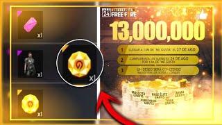 RAPIDO!! RECLAMA GR4TIS UNA PIEDRA EVOLUTIVA + PASE ELITE EN FREE FIRE ( NUEVO EVENTO) FF