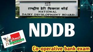 NDDB- National Dairy Development Board//Co-operative bank exam..Ep:25