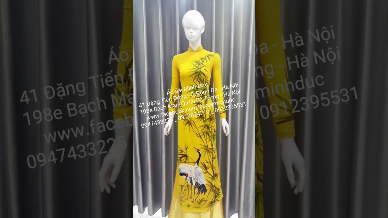 Địa chỉ chuyên may áo dài đẹp tại Hà Nội