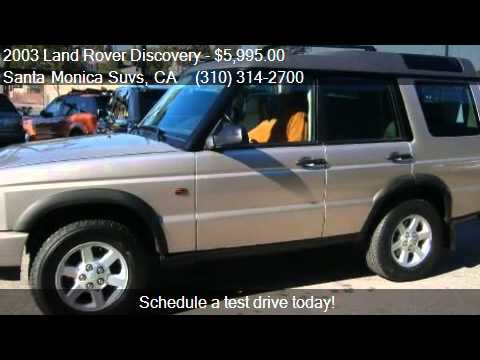 2003 Land Rover Discovery S 4WD 4dr SUV for sale in Santa Mo
