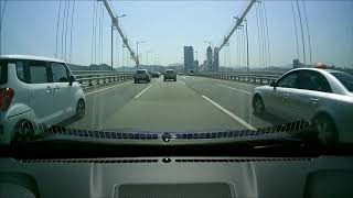3.Korea Drive of the busan gwangan bridge 부산 광안대교 드라이브