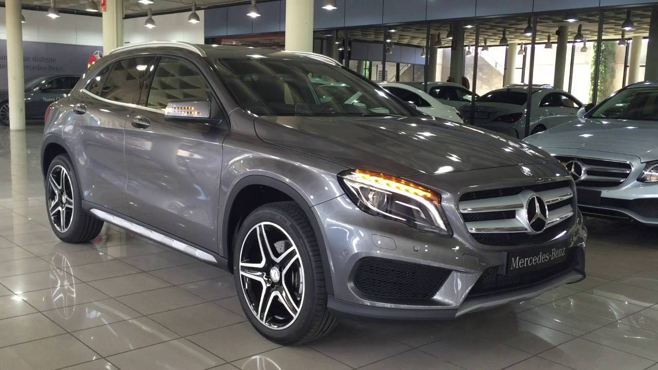 mercedes benz vegar gla 220d amg line gris monta a youtube. Black Bedroom Furniture Sets. Home Design Ideas