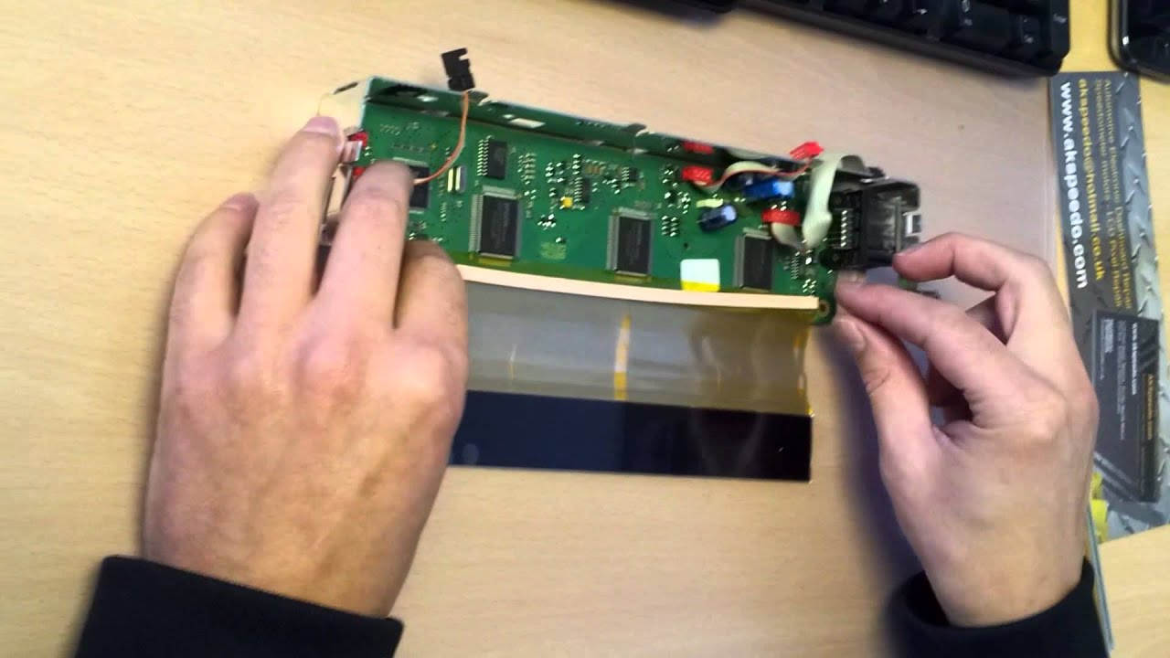 Bmw x5 e53 e39 radio mid new lcd non bond pixel repair ribbon instruction video youtube