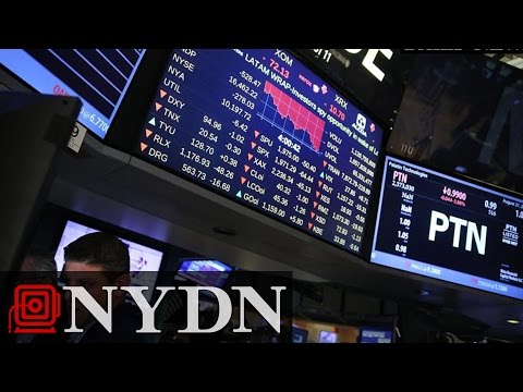 US Dow Plunges 1,000 Points Over China Stock Woes