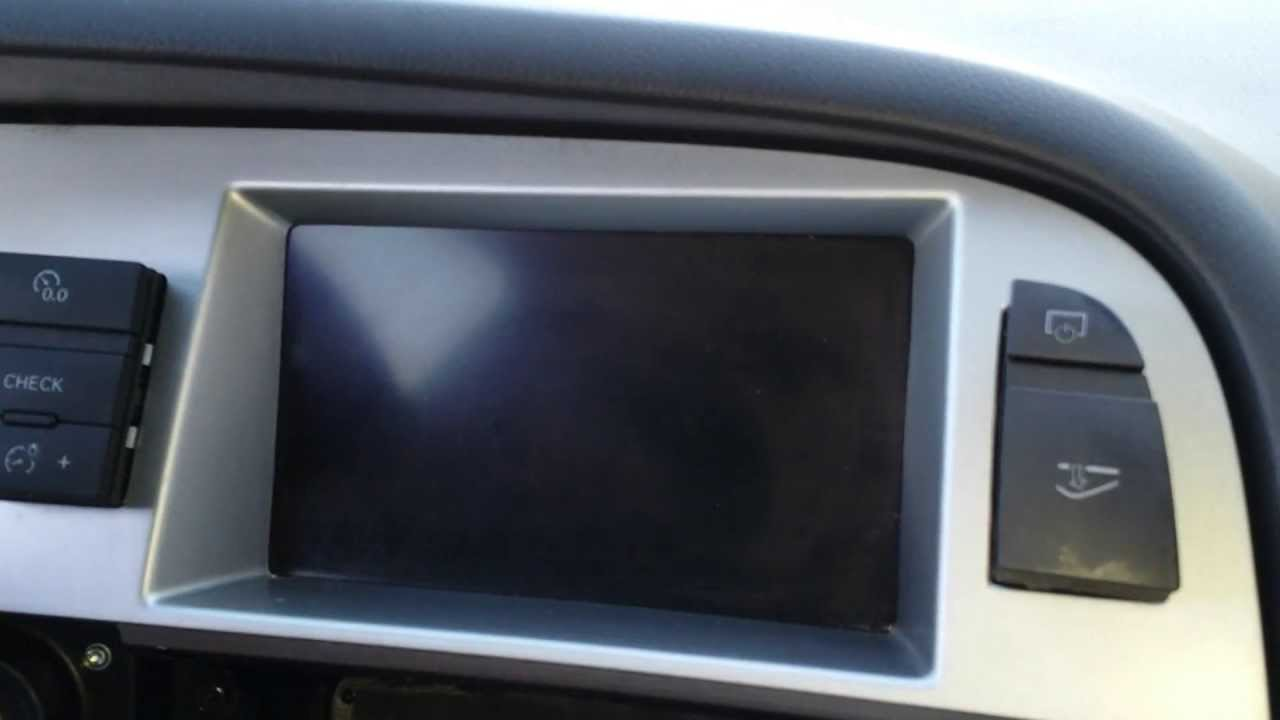 How To Remove Display Speedometer Cluster From 2008 Audi