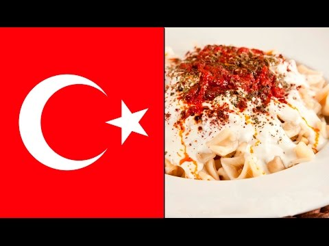 How to cook Turkish traditional food: Manti