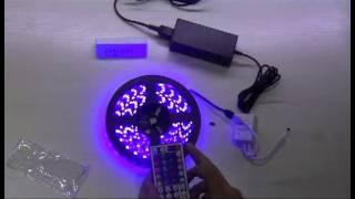 led strip rf 44 keys remote controller 5m 5050 3528 rgb led strip kit
