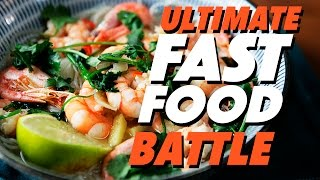 THE ULTIMATE 15 MINUTE MEAL BATTLE