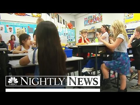 See Why This Elementary School Is Standing Room Only | NBC Nightly News