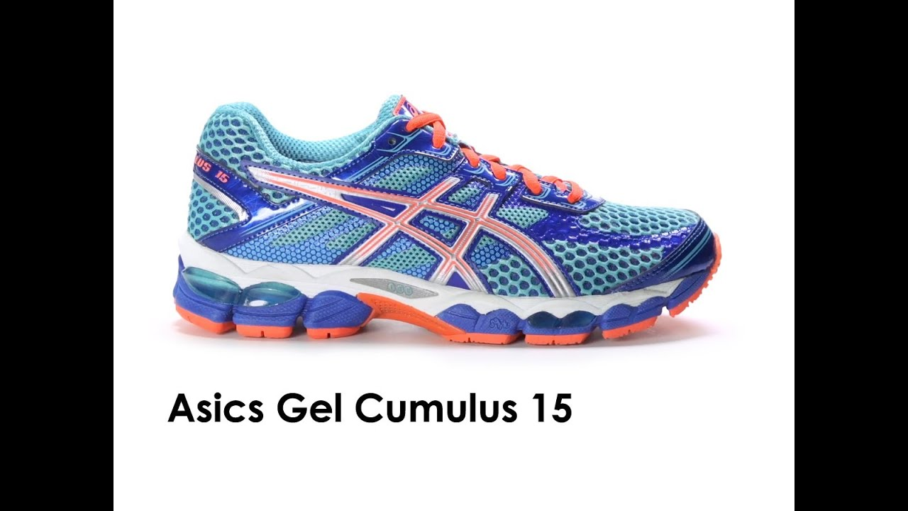 asics gel cumulus 15 damen test