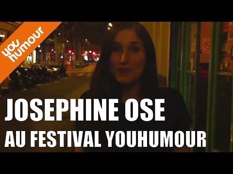 J-16 : Josephine Ose au Festival Youhumour !