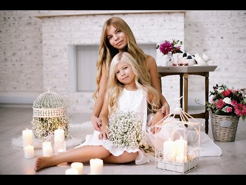 Мама и дочка фото проект #JuliaPupsi