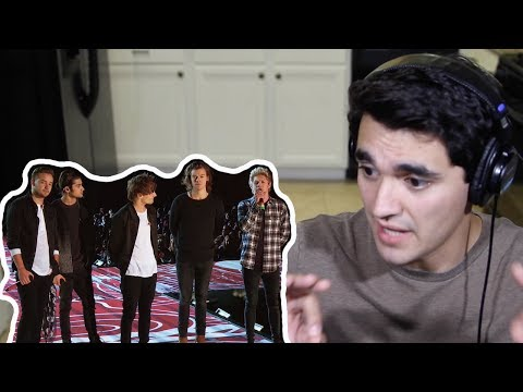 One Direction - Little Things (Live TV Special) REACTION