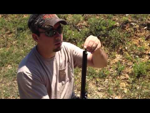 CVA Wolf 50 cal muzzle loader/how to load