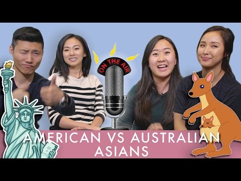 """Asian Australians Try to Understand the Term """"ASIAN AMERICAN"""""""