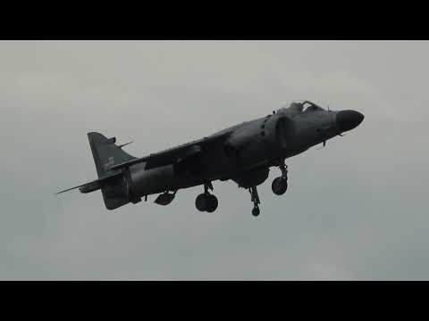 Art Nalls - Sea Harrier Leaseweb Manassas Airshow 2018