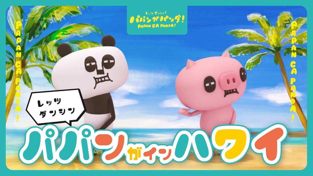 【新作】今度はハワイに行っちゃう!?(妄想で。) パパンがパンダ!#家で一緒にやってみよう #StayHome #WithMe