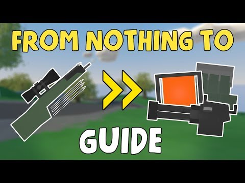 RAGS TO RICHES.. GUIDE | Tips & Tricks to get GEARED! 1/2 | Unturned