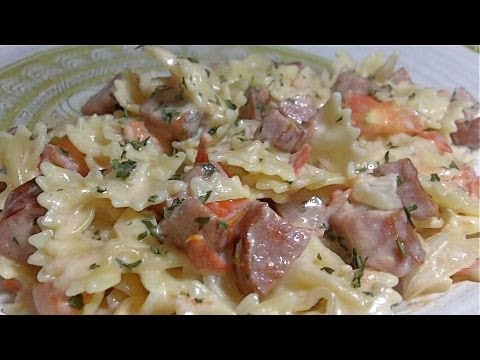 Creamy Pasta, Sausage & Tomato Skillet Meal: Easy Weekday Dinner Idea