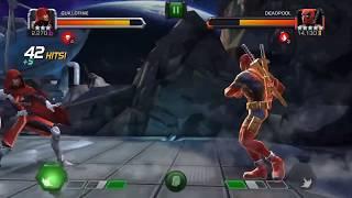 3* Guillotine vs Master Mode DeadPool (King Groot