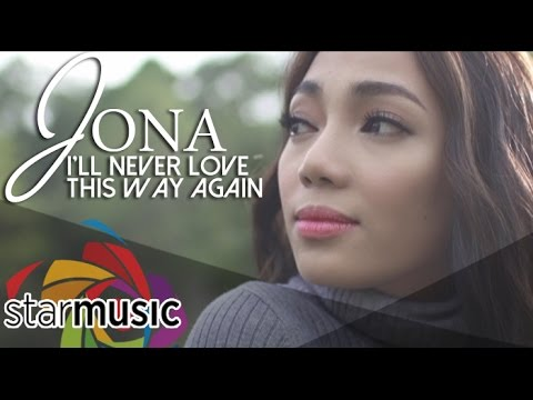 Jona - I'll Never Love This Way Again (Official Music Video)