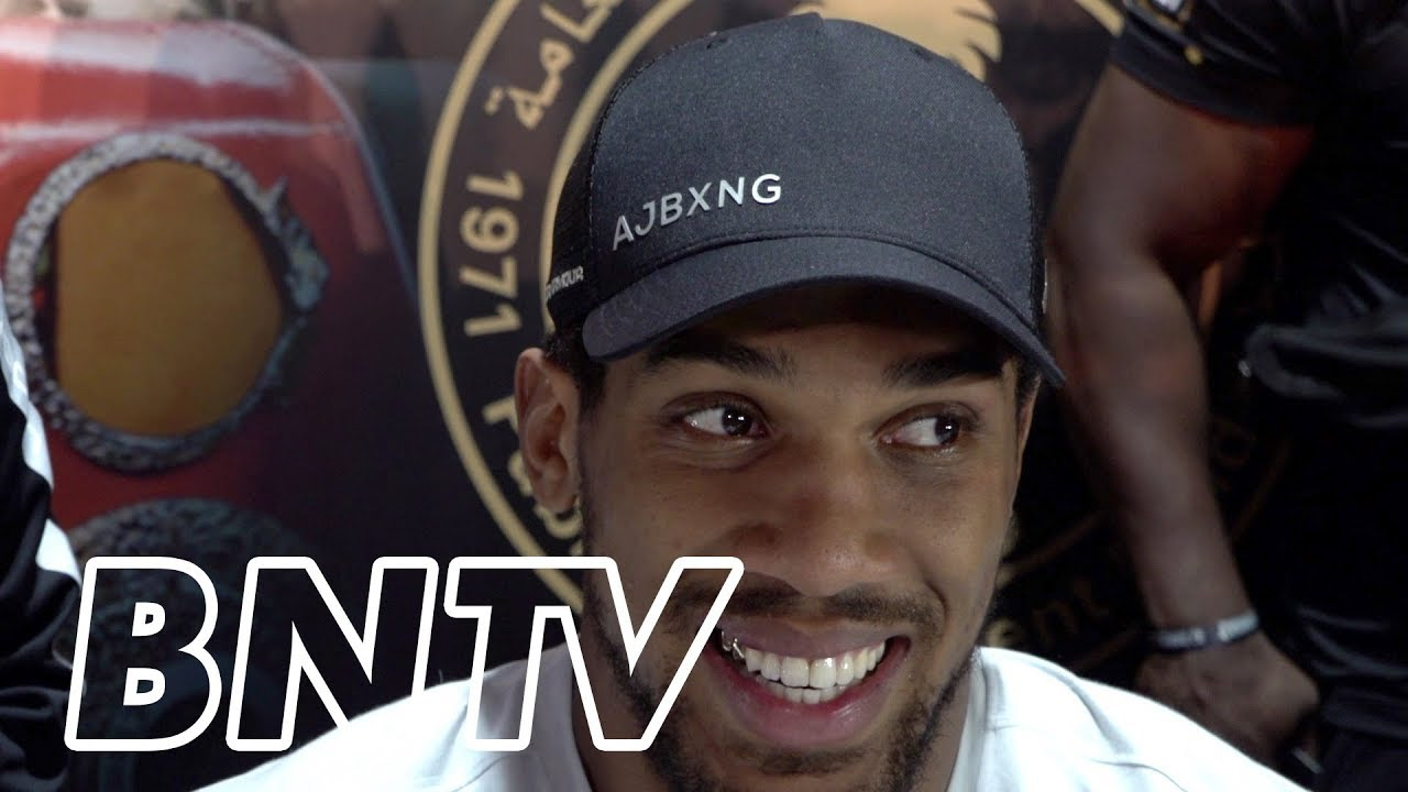 Download ANTHONY JOSHUA | Reacts to victory in Andy Ruiz rematch