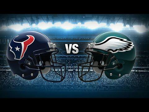 Madden 18 Gameplay - Philadelphia Eagles Vs Houston Texans