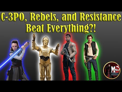 C-3PO, Resistance, and Rebels Beat Everything?