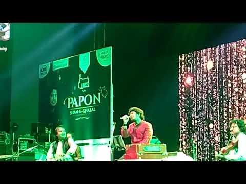 Papon shaam- e- Gajhal live in pune 2017 Phoenix market city