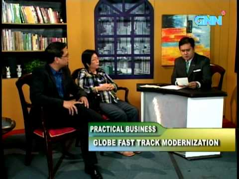 Globe Telecom's NTGPMO on Practical Business (Sept 13, 2012)