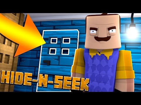NEW SECRET ROOM!? Minecraft Hello Neighbor HIDE N SEEK
