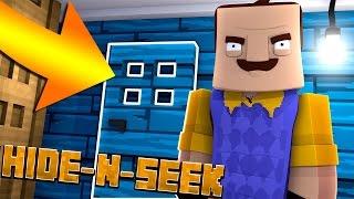 NEW SECRET ROOM!? Minecraft Hello Neighbor HIDE N SEEK