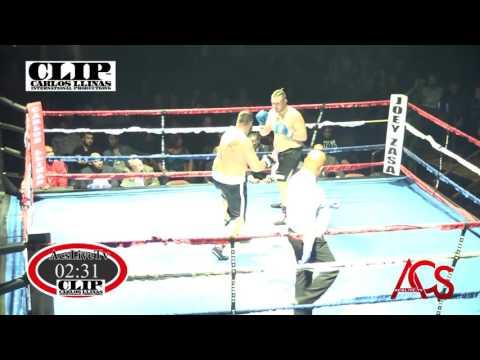 C.L.I.P Boxing Royal Oak January 8 2016 Fight 2