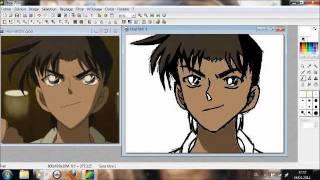 How to draw Heiji Hattori (Detective Conan/ Detektiv Conan) Speed Drawing