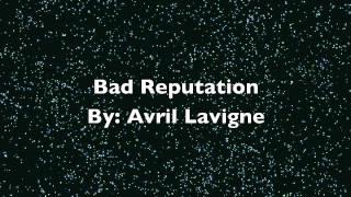 Bad Reputation Audio Avril Lavigne HD