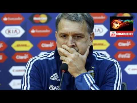 Argentina vs Paraguay - Semifinales Copa America 2015 - Conferencia de prensa - Gerardo Martino