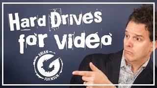 Video Editing Hard Drive