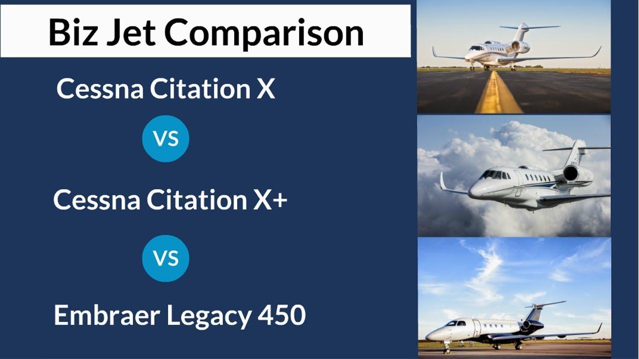 Cessna Citation X Vs Citation X Vs Embraer Legacy 450 Avbuyer