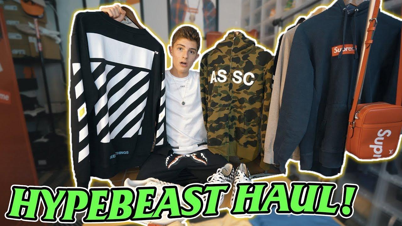 673f01930708 CRAZY hypebeast clothing haul! (Supreme