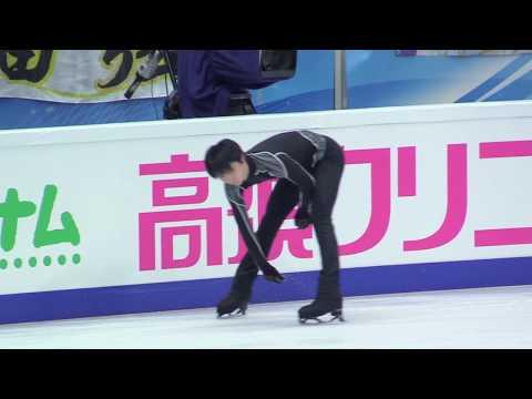 [FANCAM] Rostelecom Cup 2017.10.21 FP Practice (羽生結弦 Yuzuru Hanyu focus)