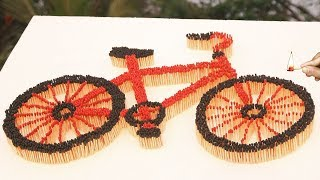 How to Make Bicycle at Home - How to Make a DIY Cycle -  How to Make Cycle Easy - Make Bicycle Easy