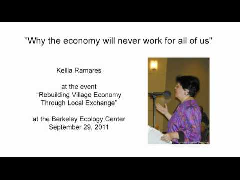 Why the economy will never work for all of us (Kellia Ramares)