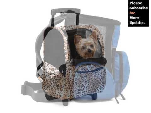 Dog Backpack Carrier Pictures And Ideas - Dog Products & Accessories