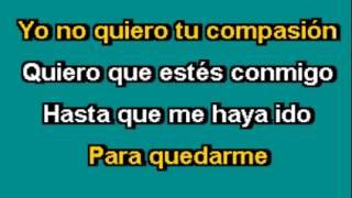 """ABRAZAME"" Karaoke Camila--José Giovanni"