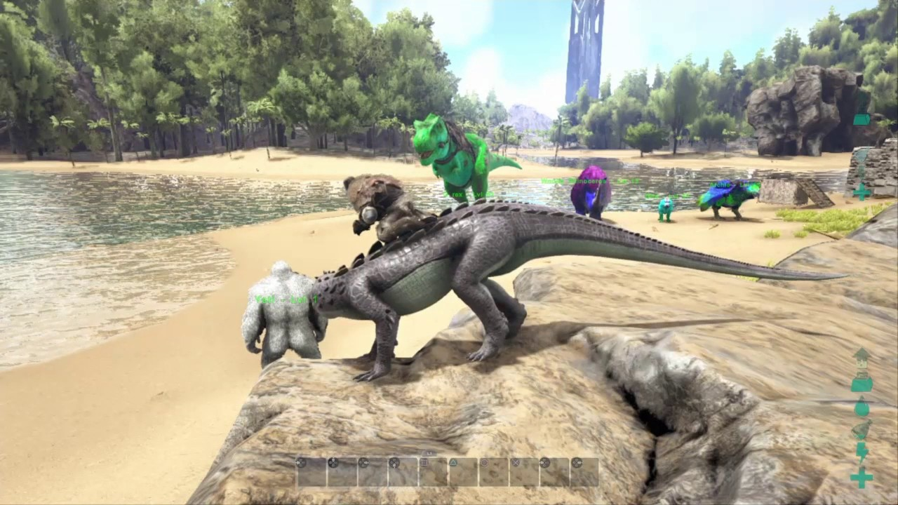 Ark how to spawn in dinos on PS4 Admin Commands