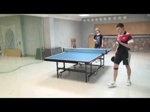 Table Tennis Academtour 272 полуфинал Корнис - Ефременко Сева