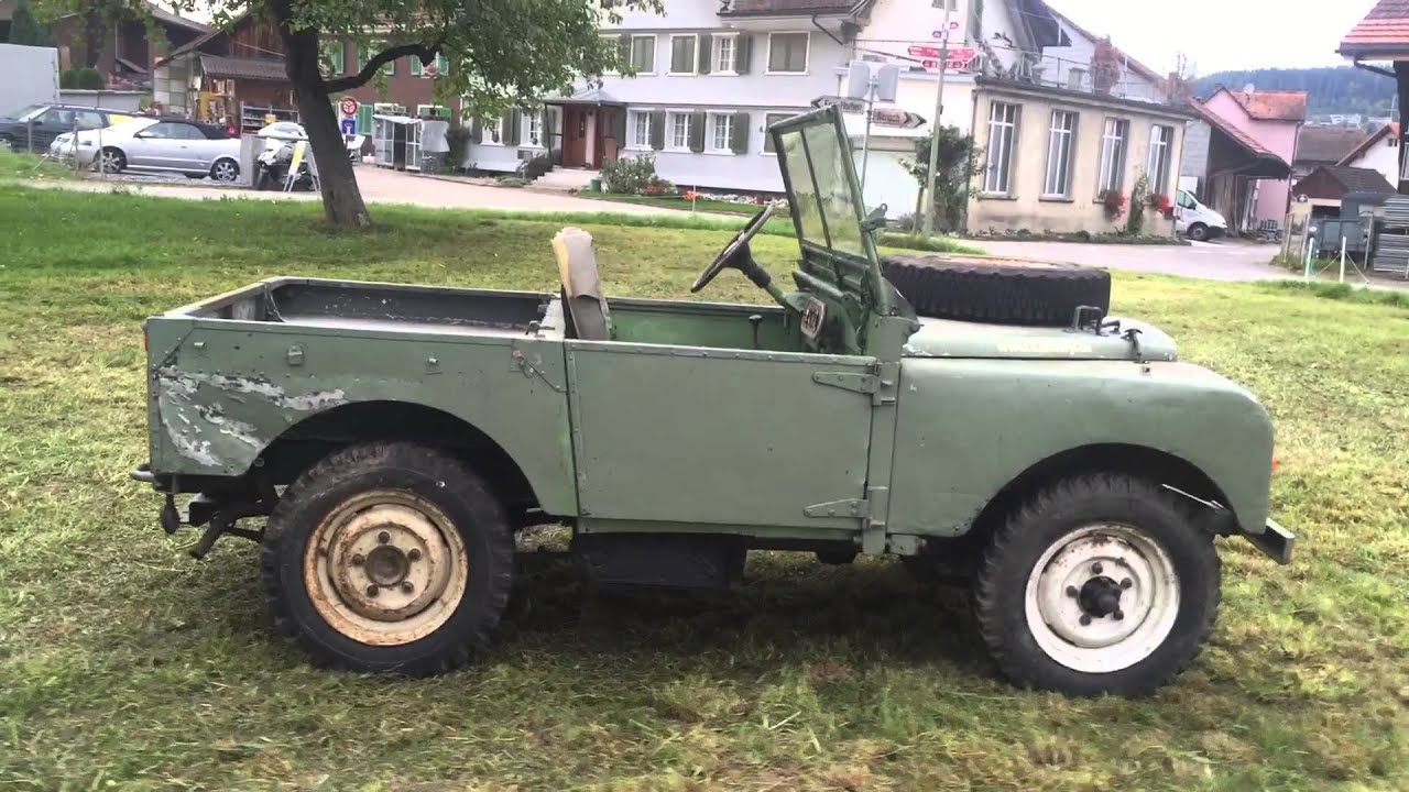 """Land Rover Serie e 80"""" Full Grill Year 1950 for sale"""