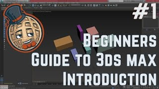 3dsmax Tutorial - Beginners Guide #1 - Introduction to max